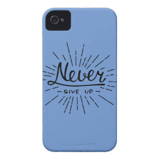 Never Give Up iPhone 4 Case-Mate Case
