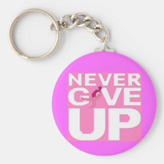 Never Give Up Keychain