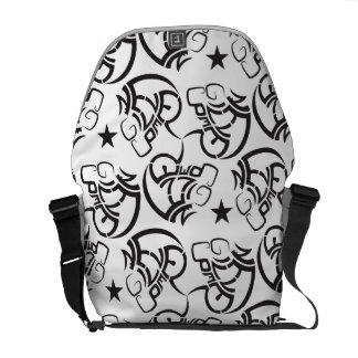 Never give up super amazing & awesome bag messenger bag