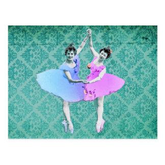 Never Give up Your Dreams - Boomerina Ballerinas Postcard