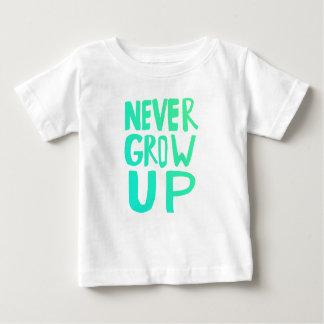 Never Grow Up Baby T-Shirt