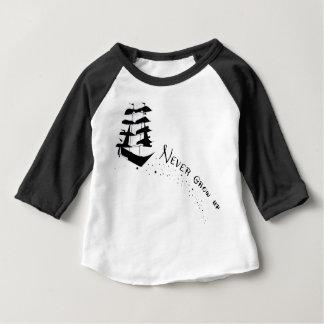 Never Grow Up Pirate Ship Shirt