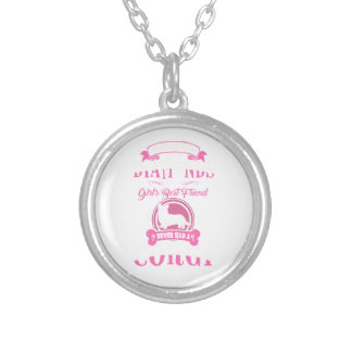 Never had a Corgi Mommy dog shirt Silver Plated Necklace