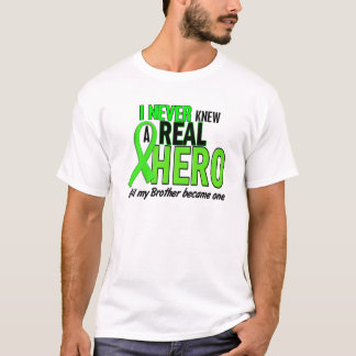 Never Knew A Hero 2 LIME GREEN (Brother) T-Shirt
