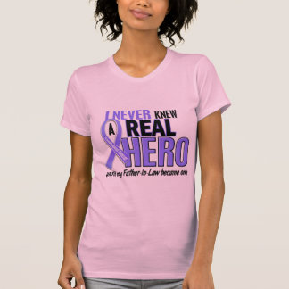 Never Knew A Hero Father-In-Law Esophageal Cancer Tees
