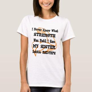 Never Knew Strength...RSD/CRPS T-Shirt