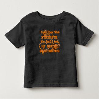 Never Knew Strength...RSD/CRPS Toddler T-shirt
