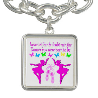 NEVER LET FEAR STOP THIS DAZZLING DANCER DESIGN BRACELETS