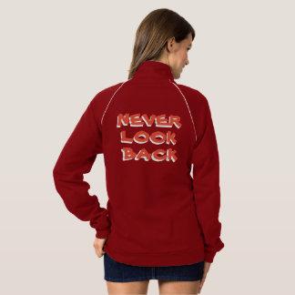 Never Look Back Women's Fleece Track Jacket