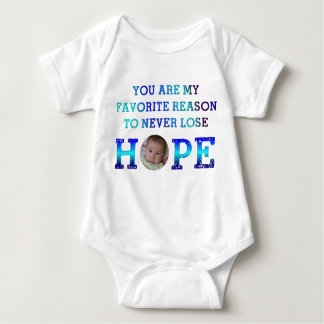 Never Lose Hope - Andy Baby Bodysuit