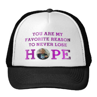Never Lose Hope - Audrey Trucker Hat