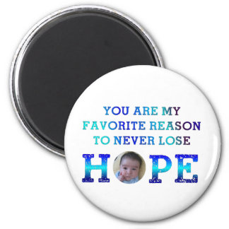Never Lose Hope - Jay 2 Inch Round Magnet