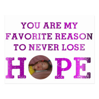 Never Lose Hope - Kaitlyn Postcard