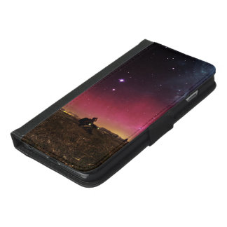 Never Lose Your Wonder Fractalscape iPhone 6/6s Plus Wallet Case