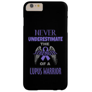 Never...Lupus Warrior Barely There iPhone 6 Plus Case