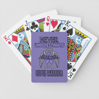 Never...Lupus Warrior Bicycle Playing Cards