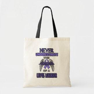 Never...Lupus Warrior Tote Bag