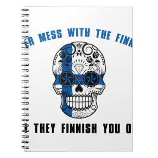 never mess with a fine sh spiral notebook