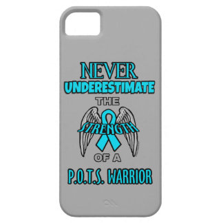 Never...P.O.T.S. Warrior iPhone 5 Cover