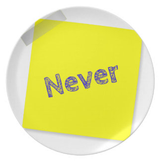 Never Plate
