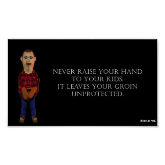 Never Raise Your Hands Poster