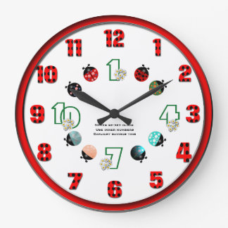 Never re-set large clock