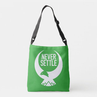 Never Settle Crossbody Bag