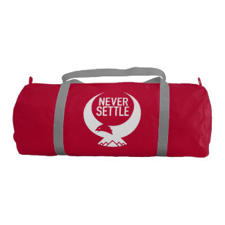 Never Settle Gym Bag