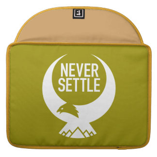 Never Settle Sleeve For MacBook Pro