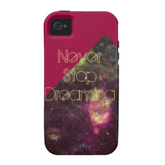 Never Stop Dreaming Iphone 4 4S Case