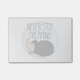 Never Stop Dreaming Post-it Notes