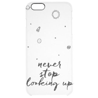 Never Stop Looking Up Space Case