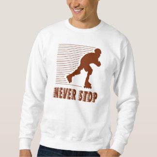 Never Stop: Rollerblading Sweatshirt