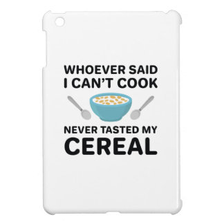 Never Tasted My Cereal Cover For The iPad Mini