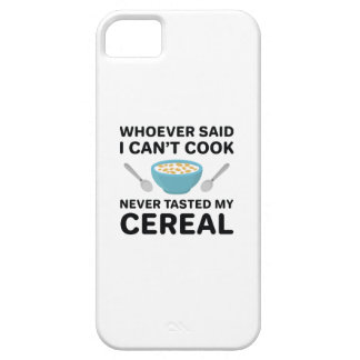 Never Tasted My Cereal iPhone 5 Cases