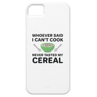 Never Tasted My Cereal iPhone 5 Covers