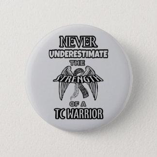 NEVER...TC Warrior 2 Inch Round Button