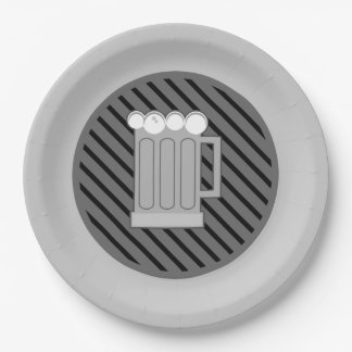Never The Same Oktoberfest Party Paper Plates 9 Inch Paper Plate