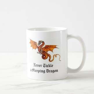Never Tickle a Sleeping Dragon Mug