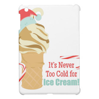 Never Too Cold Case For The iPad Mini
