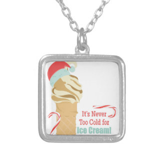 Never Too Cold Silver Plated Necklace
