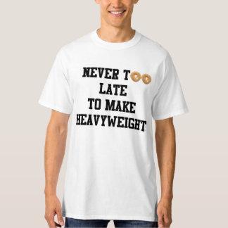 Never too Late to Make Heavyweight, Men T-shirt