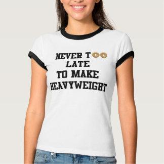 Never Too Late to Make Heavyweight T-shirt