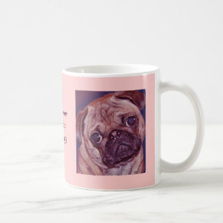 """Never Too Many Pugs"" Mug"