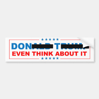 Never Trump Bumper Sticker