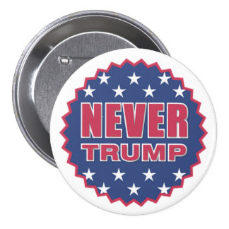 Never Trump Button