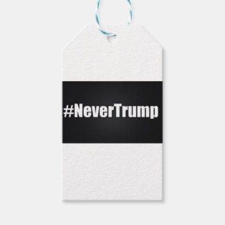 NEVER TRUMP PACK OF GIFT TAGS