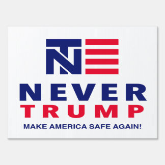 """NEVER TRUMP"" (single-sided)"