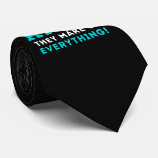 Never trust a Atom, They Make up Everything Tie