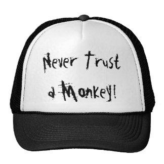 Never Trust a Monkey! Trucker Hat